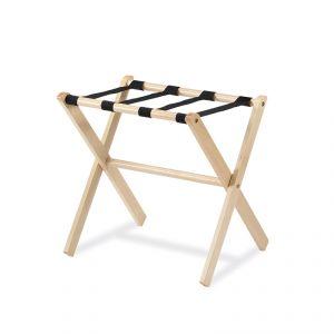 1461S Reggivaligie, colore legno naturale, cm 48x48x53h