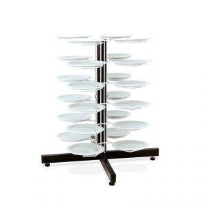 3019 Porta platos, capacidad 24 platos Ø cm 24 ÷ 31, cm 95h