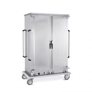 """3236GN-K Armario calefactor para bandejas, 18x2 GN 1/1, guías """"C"""""""