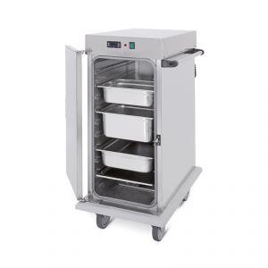3411-10C Armadio caldo portateglie, 10xGN 1/1