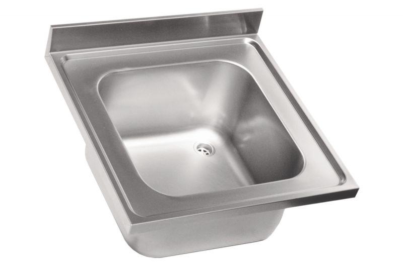 Lv6000 top lavello in acciaio inox 60x60 1 vasca - Lavabo de acero inoxidable ...