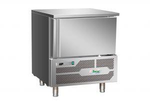 G-AB1203 Abbattitore di Temperatura surgelatore 3 Teglie in acciaio inox Aisi 304