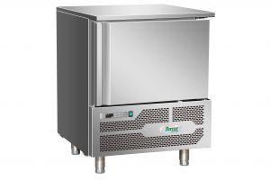 AB1805 Abbattitore di temperatura surgelatore 5 teglie in acciaio inox Aisi 304