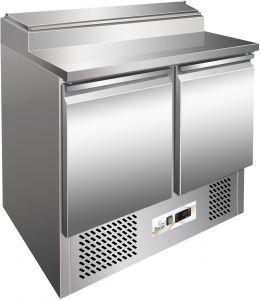 G-PS200 - Cuadro de acero inoxidable AISI304  para ensalada de refrigeración estática