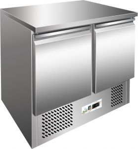 G-S901 - Ensalada refrigerada, temperatura positiva, estructura de acero inoxidable AISI304