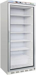 G- EF600G Armadio refrigerato statico ECO porta a vetro - Capacità 555 Lt - Temp. negativa