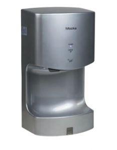 T160102 Sèche-mains électrique MOCKA ABS 1300 Watt Couleur Gris