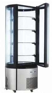 ARC400RC Vitrina refrigerada redonda ventilada con iluminación led - capacidad 400 lt