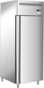 G-GN650BT-FC - Frigorifero ventilato -18/-22°, singola porta, telaio inox AISI201