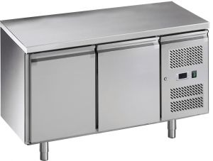 G-GN2100TN-FC Tavolo refrigerato per gastronomia in acciaio inox AISI201