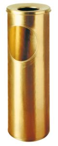 T700057 Brushed brass ashbin 16 liters