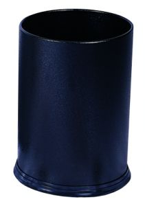T103031 Black steel Paper bin 12 liters