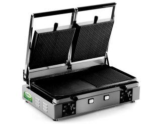 PDR3000S - Double plaque en fonte 3000W