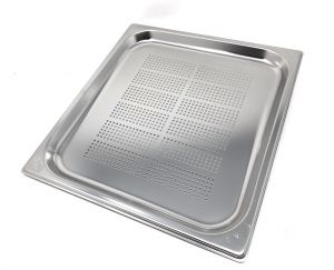 GST2/3P020F contenedores Gastronorm 2 / 3 h20 perforada acero inoxidable AISI 304