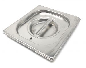 CPR1/6T cover 1 / 6 in stainless steel AISI 304 with sealing gasket