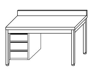 TL5321 work table in stainless steel AISI 304