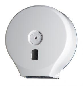 T104001 Distributore carta igienica in ABS bianco 200 metri