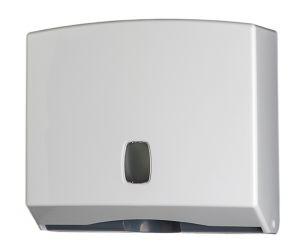 T104022 Distributore di carta asciugamani ABS bianco 200 fogli