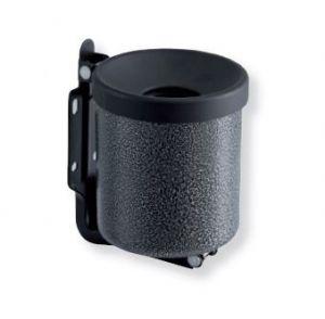 T106002 Cenicero de pared en acero inox satinado 0,5 litro