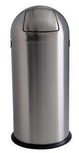 T106032 Papelera push acero inox satinado 52 litros