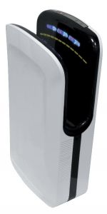 T704260 Sèche-mains X-DRY PRO avec moteur Brushless blanc