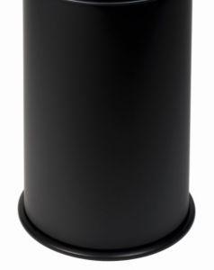T770501 Corpo per gettacarte antifuoco Nero 50 litri SENZA COPERCHIO