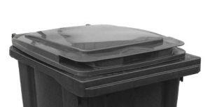 T910250 Coperchio Grigio per contenitore rifiuti esterni 240 litri