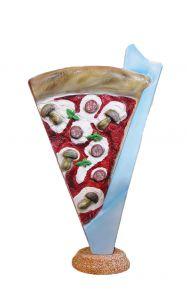 SR032A Spicchio di Pizza - Segmento de publicidad en 3D para pizzería, altura 180 cm