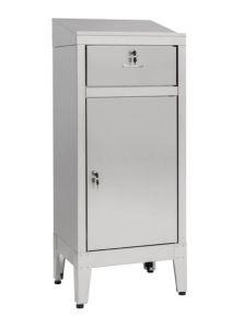 IN-699.01C Bureau avec tiroir en acier AISI 304 - dim. 50x40x115 H