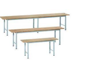 IN-P.3.V Bancos de madera pintados - dim. 100x35x45 H