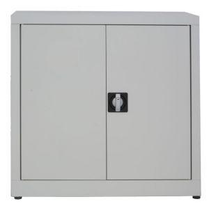 IN-Z.694.05.50 Gabinete de almacenamiento de plástico con 2 puertas bajas con puertas revestidas de zinc  80x50x80 H