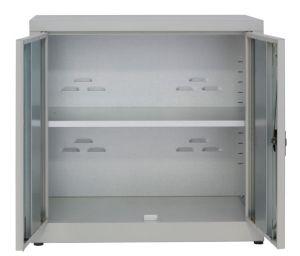 IN-Z.694.15.50 Gabinete de almacenamiento de plástico de 2 puertas con bajo contenido de zinc, 100x50x80 H de zinc p