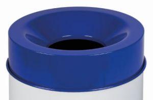 T770965 Tapa azul para cubo de basura ignífugo de 90 litros SOLO TAPA