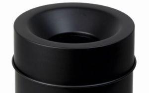 T770065 Tapa negra para cubo de basura ignífugo de 90 litros SOLO TAPA