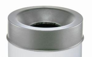 T770962 Tapa gris para cubo de basura ignífugo de 90 litros SOLO TAPA
