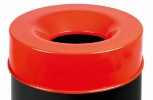 T770967 Fireproof lid Red for bucket 90 liters ONLY COVER