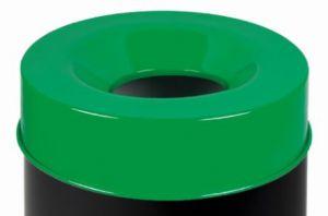 T770968 Tapa verde para cubo de basura ignífugo de 90 litros SOLO TAPA