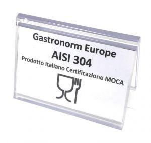 Plaque MOCA-CERT indiquant la certification des produits MOCA