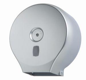 T104401 Distributore di carta igienica in rotolo ABS argento 200 metri
