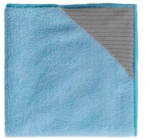 TCH104020 Panno Dual-T - Blu - 1 Confezione da 5 Pz. - 40 Cm X 40 cm