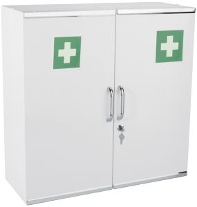 T107002 medical cabinet 2 doors