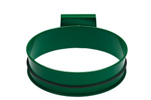 T601003 Support sac-poubelle acier Vert