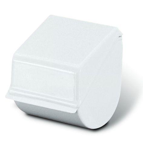 Porta rotolo in plastica bianco - Albero porta carta igienica ...