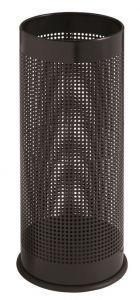 T775111 Paragüero cilíndrico perforado en metal negro