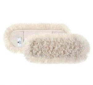 00000135 Frangia Basic Cotton - Bianco - 40 x 13 cm