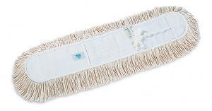 00000252 Frangia Cotone Con Lacci - Bianco - 60 x 13 cm