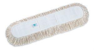 00000274 Frangia Cotone Con Tasche - Bianco - 100 x 13 cm
