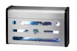 T903002 Sterminatore d'insetti Insettivor Fluo acciaio inox 80 W con carta moschicida