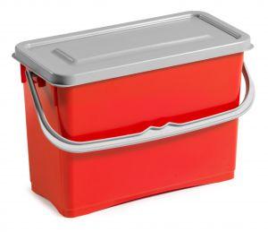 0R003255 Secchio hermetic 8 L - Rosso