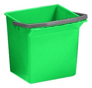 00003508 BUCKET 6 L WITH UPPER HANDLE - GREEN